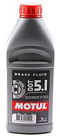 Тормозная жидкость MOTUL DOT 5.1 BRAKE FLUID (1л) SAE J 1703; ISO 4925