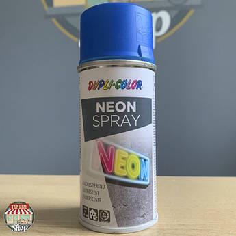 Флуоресцентна фарба Dupli Color Neon, 150 мл Аерозоль Синій