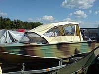 Ходовой  тент для лодки Днепр, фото 1
