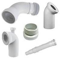 Аксессуары для канализации (соединения для унитазов WC, штуцера), Польша, фото 1