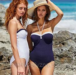 Купальник жіночий, суцільний, синього кольору. ТМ YsabelMora. Іспанія. 38. 40. 42. 44. 46. 48.