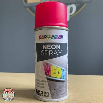 Краска флуоресцентная Dupli Color Neon, 150 мл Аэрозоль Розовый