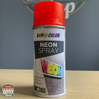 Краска флуоресцентная Dupli Color Neon, 150 мл Аэрозоль Красный