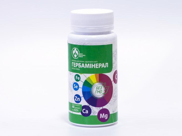Гербаминерал, 60 капс., Центр Здоровья Семьи
