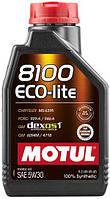 Моторное масло MOTUL 8100 ECO-LITE 5W30 (1л) API SN, ILSAC GF-5