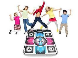 Танцевальный коврик Dance Mat подключение к ТВ + ПК