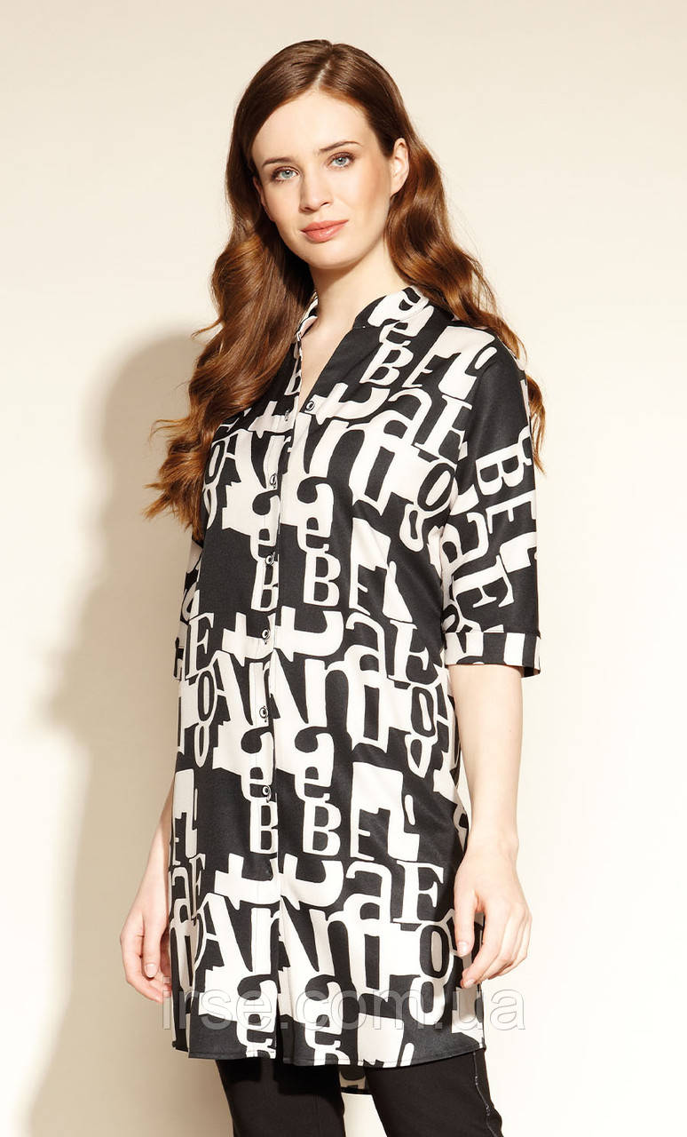 Женское платье Emara Zaps черного цвета. Коллекция осень-зима