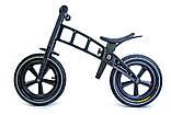 Велобег Balance Trike. Black, фото 2