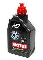 Масло трансмиссионное Motul 80W90 HD (1л) API GL-4, GL-5; MIL-L-2105D, фото 1