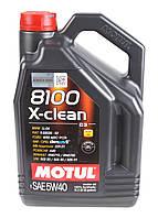 Моторное масло MOTUL 8100 X-CLEAN 5W40 (5л) ACEA C3, API SN