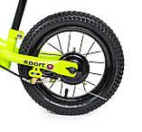 Велобег Scale Sports. Салатовый цвет., фото 3