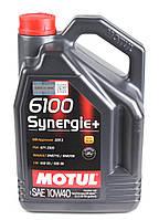 Моторне масло Motul 6100 Synergie+ 10W40 (5л)