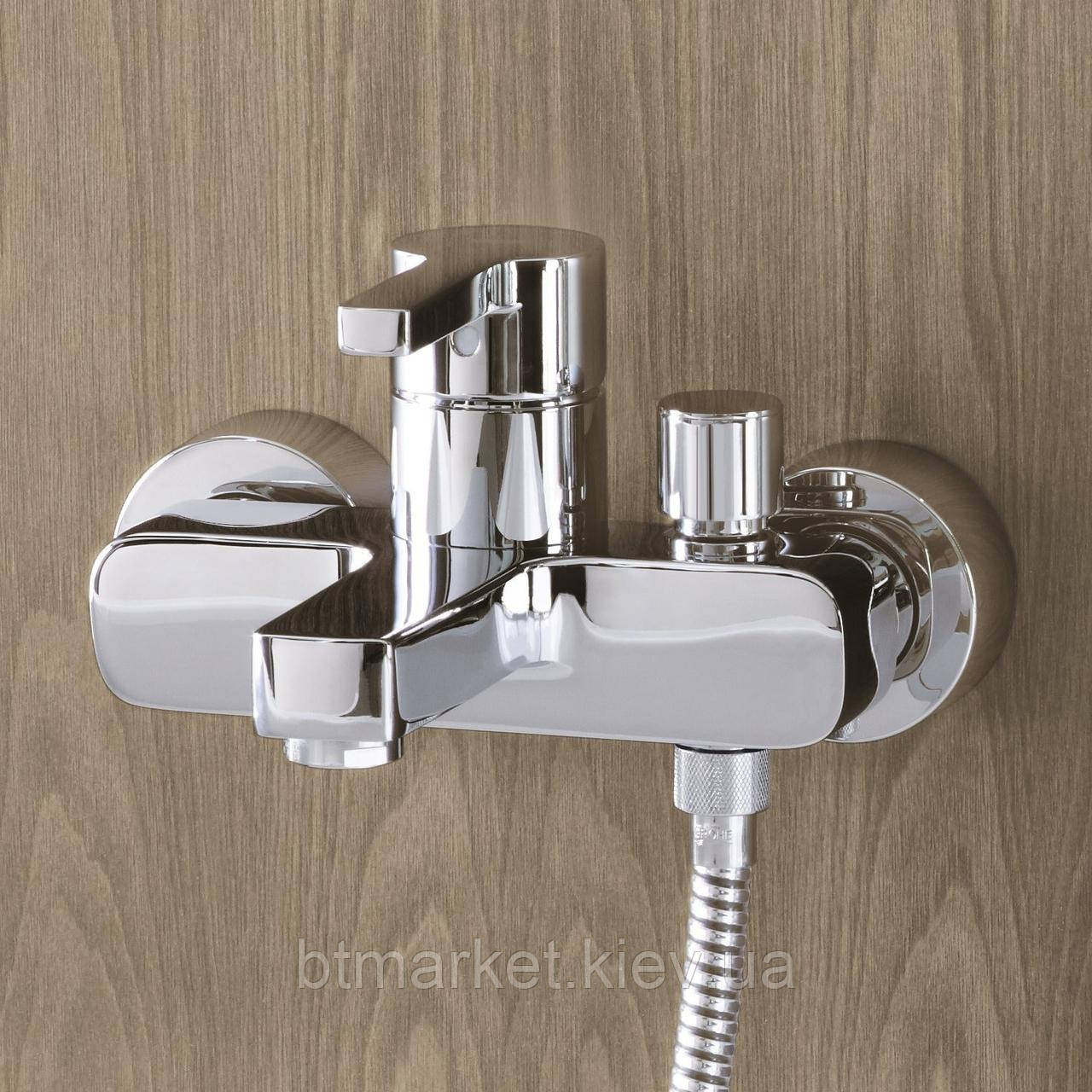 Смеситель для ванны Grohe Lineare однорычажный хром  33849000