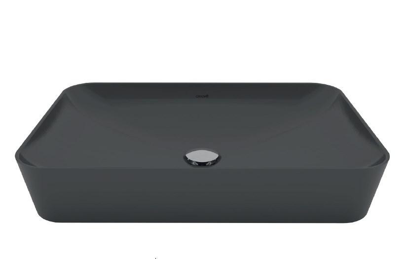 ULTRA Умывальник на столешницу 40х60 см., антрацит матовый UL060.60000