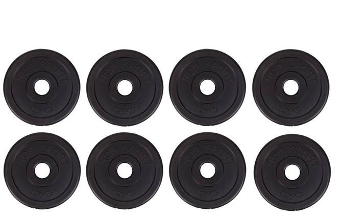 Диски (Блины) для Штанги Гантелей 8х1,25кг, фото 2