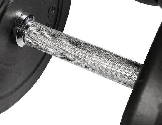 ГАНТЕЛЬ 1х28 кг Металлический Гриф, фото 2