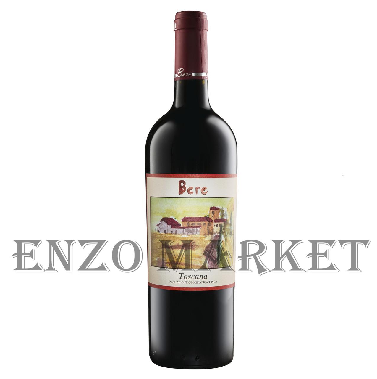 Вино красное сухое Viticcio Bere Toscana Rosso 2015г. 0,75 литра