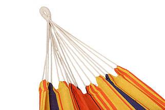 Гамак двухместный Оранжевый XXL, фото 2