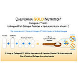Коллаген и гиалуроновая кислота California Gold Nutritio 205 г, фото 3