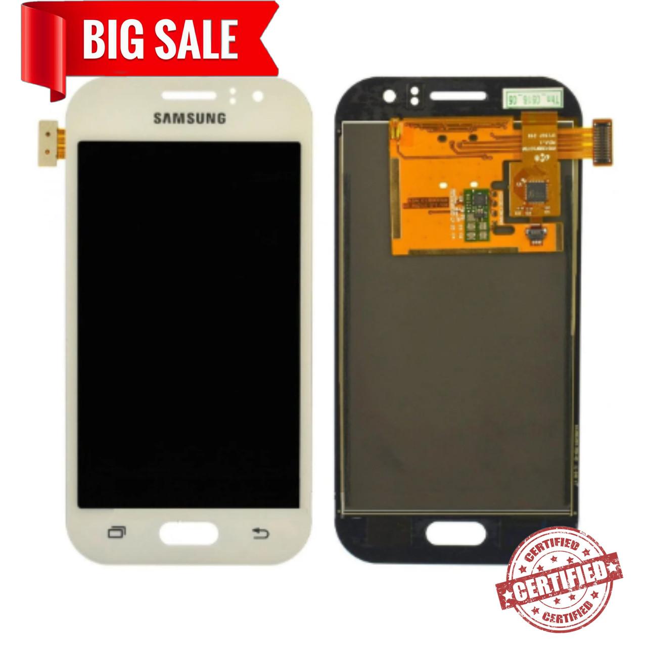 Модуль(сенсор+дисплей) Samsung J110H/J110G/DS /J110L/J110M Galaxy J1 Ace TFT З РЕГУЛЮВАННЯМ ЯСКРАВОСТІ білий