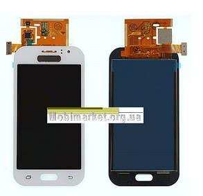 Модуль(сенсор+дисплей) Samsung J110H/J110G/DS /J110L/J110M Galaxy J1 Ace TFT З РЕГУЛЮВАННЯМ ЯСКРАВОСТІ білий, фото 2