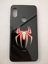 Чехол для Xiaomi Redmi Note 6 LUMINOUS GLASS Spiderman
