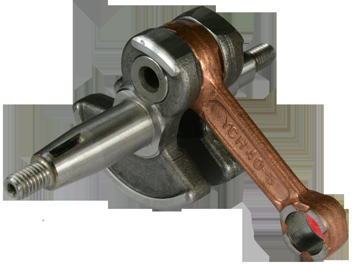 Коленвал косы Ø 40,5 мм. Вал  Ø 15 мм Iron