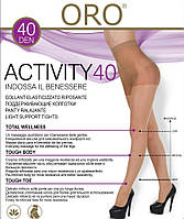 Женские колготки классика модель ORO ACTIVITY 40 DEN