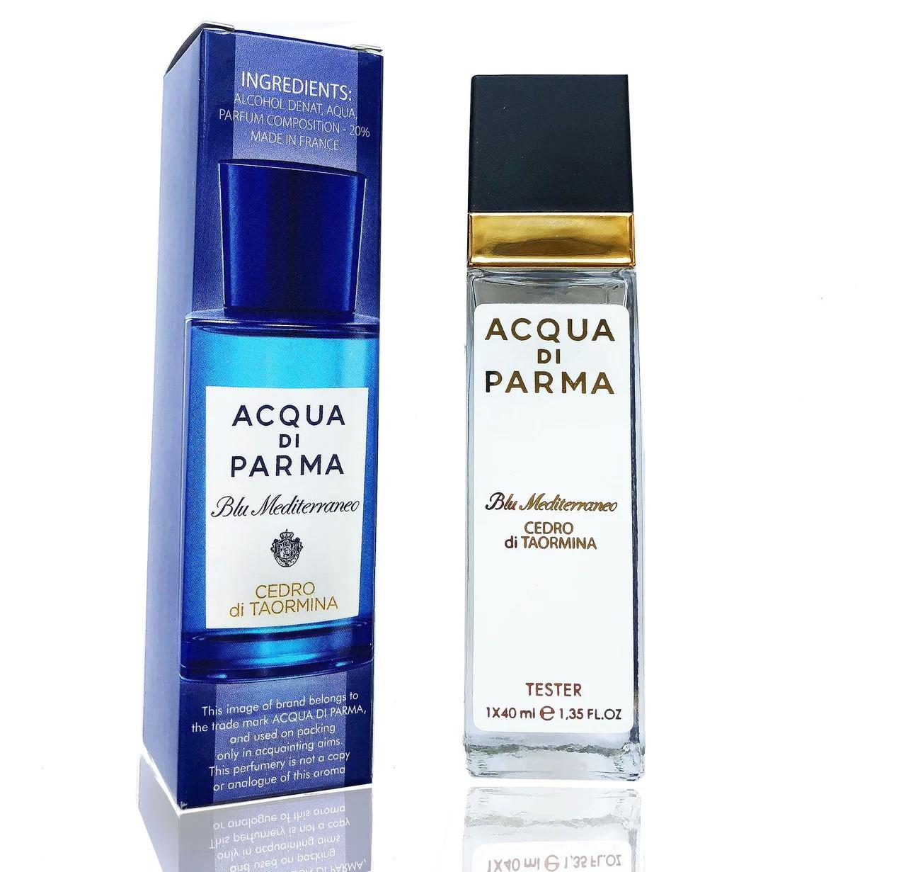 Мини парфюм унисекс Acqua Di Parma Blue Mediterraneo Cedro Di Taormina (тестер)
