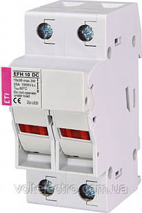 Тримач EFH 10 DC 2p LED