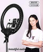 Кольцевая светодиодная лампа для визажистов.45 см, фото 1