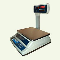 Весы торговые электронные со стойкой ВТНЕ-15Т3-3
