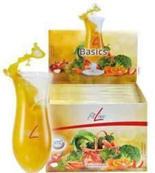 FitLine Basics Бейсикс, витаминное питание,для снижения аппетита, Германия , в пакетиках, 360 гр