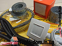Резистивный нагревательный кабель In-therm, 2,7 м2 (550 вт) (Акционная цена с сенсорным регулятором)