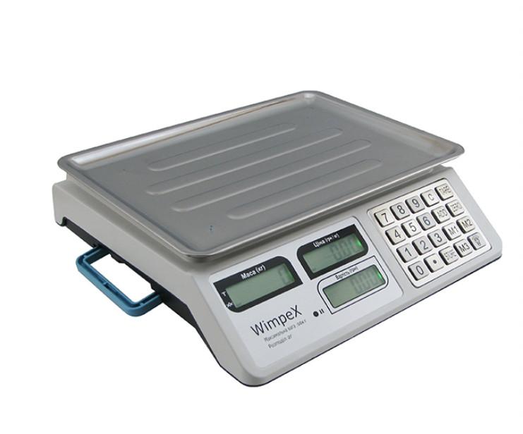 Весы торговые Wimpex WX-5004 до 50 кг
