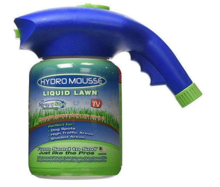 Жидкий газон Hydro Мousse гидропосев газонных трав