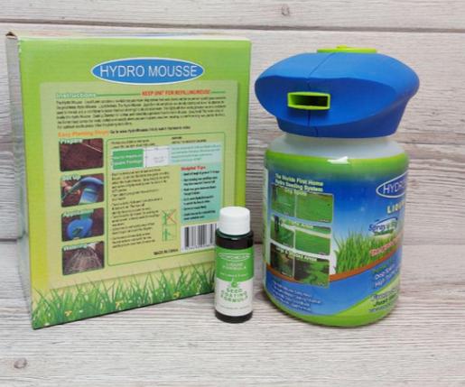 Жидкий газон Hydro Мousse гидропосев газонных трав, фото 2
