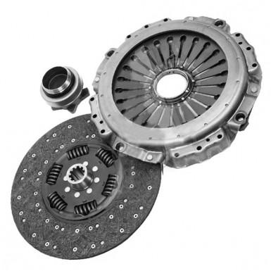 Комплект сцепления Seat Toledo 2007-2009 (1.8 TFSI) Диск+Корзина+выжимной LUK