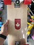 """Скейт деревянный, Скейтборд """" Canada 100 % """" , натуральный канадский клен, широкие колеса, супер качество, фото 7"""