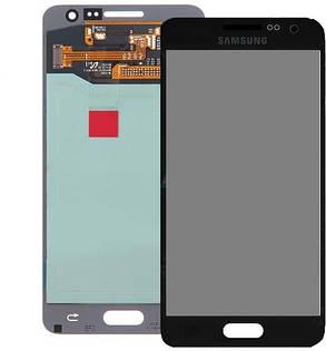 Модуль(сенсор+дисплей) для Samsung A300F Galaxy A3,A300FU ,A300H  TFT З РЕГУЛЮВАННЯМ ЯСКРАВОСТІ чорний, фото 2