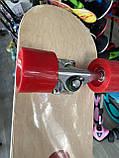 """Скейт деревянный, Скейтборд """" Canada 100 % """" , натуральный канадский клен, широкие колеса, супер качество, фото 4"""