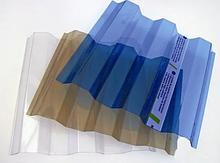 Профільний (профільований) полікарбонат (прозорий шифер)