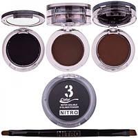 Суха підводка для очей Nitrq ME13A, 3 кольори
