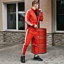Спортивні чоловічі штани в стилі Adidas Originals червоні, фото 5