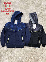 Двухсторонние ветровки для мальчика оптом, S&D, 8-16 лет, арт. КК-908