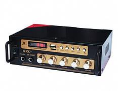 Підсилювач звуку UKC AMP SN 222 BT, для колонок, переносний