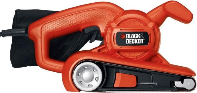 Шліф.маш. BLACK&DECKER KA86-QS стрічкова, 720Вт, 75х457мм.