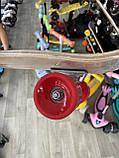 """Скейт деревянный, Скейтборд """" Canada 100 % """" , натуральный канадский клен, широкие колеса, супер качество, фото 5"""