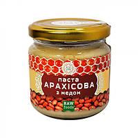 Паста арахисовая с медом Ecoliya 200г