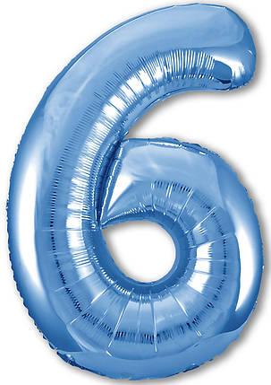 Куля ЦИФРА Agura Slim 6 Синій (Агура), фото 2